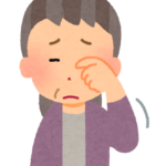 白内障 〜介護用語集〜 イメージ