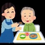 食事介助のやり方 イメージ