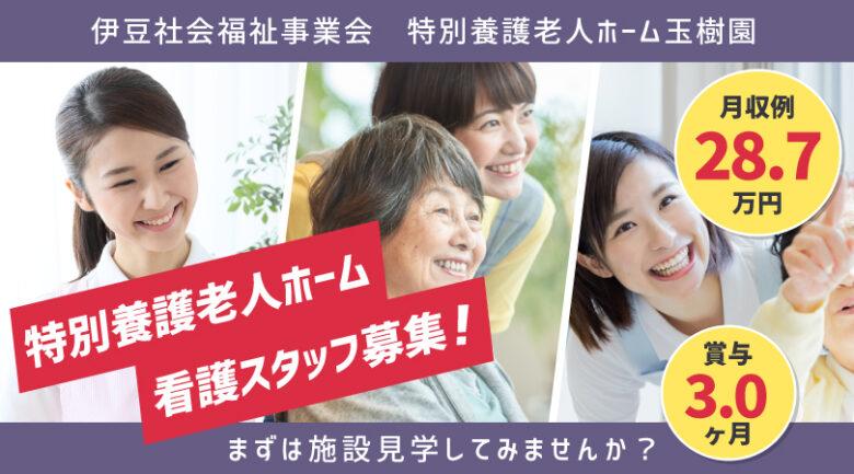 特別養護老人ホームの看護師 | 三島市玉沢 イメージ