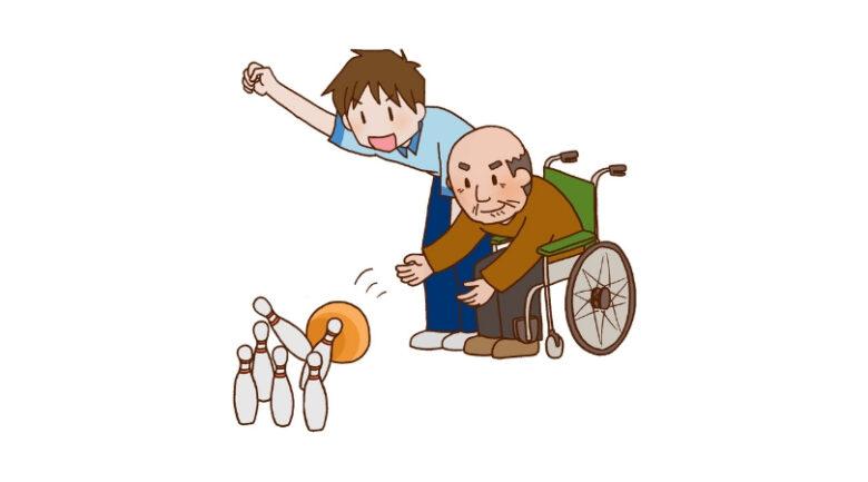 施設での「アクティビティ支援」(2) イメージ