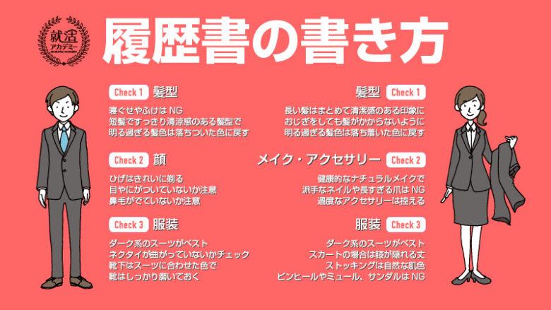 履歴書の書き方 その2 【免許・資格、志望動機、本人希望欄】 イメージ