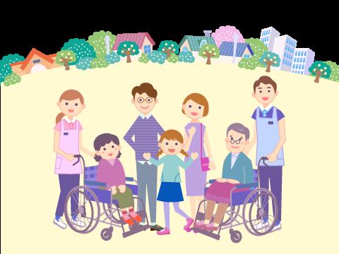 介護のお仕事解説-地域密着型サービス イメージ