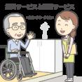 介護のお仕事解説-在宅における介護サービス イメージ